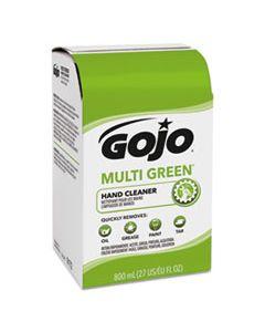 GOJ917212CT MULTI GREEN HAND CLEANER 800 ML BAG-IN-BOX DISPENSER REFILL, CITRUS, 12/CARTON