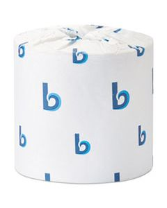 BWK6156 OFFICE PACKS STANDARD BATHROOM TISSUE, SEPTIC SAFE, 2-PLY, WHITE, 504 SHEETS/ROLL, 80 ROLLS/CARTON
