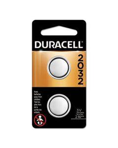 DURDL2032B2PK LITHIUM COIN BATTERY, 2032, 2/PACK