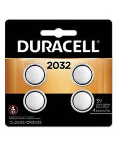 DURDL2032B4PK LITHIUM COIN BATTERY, 2032, 4/PACK