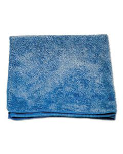 BWKMFKBBULK MICROFIBER CLEANING CLOTHS, 16 X 16, BLUE, 240/CARTON
