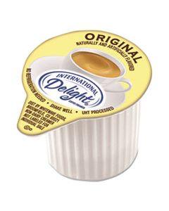 FLAVORED LIQUID NON-DAIRY COFFEE CREAMER, ORIGINAL, MINI CUPS, 384/CARTON
