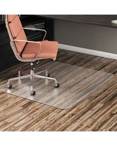 ALEMAT4660HFR ALL DAY USE NON-STUDDED CHAIR MAT FOR HARD FLOORS, 46 X 60, RECTANGULAR, CLEAR