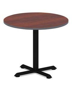 ALETTRD36CM REVERSIBLE LAMINATE TABLE TOP, ROUND, 35 3/8W X 35 3/8D, MEDIUM CHERRY/MAHOGANY