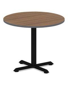 ALETTRD36EW REVERSIBLE LAMINATE TABLE TOP, ROUND, 35 3/8W X 35 3/8D, ESPRESSO/WALNUT