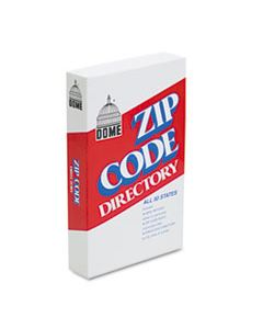 DOM5100 ZIP CODE DIRECTORY, PAPERBACK, 750 PAGES