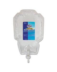 CLO01753 HAND SANITIZER PUSH BUTTON DISPENSER REFILL, 1 L BAG