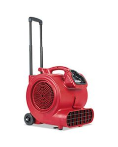 EURSC6057A DRY TIME AIR MOVER WITH WHEELS AND HANDLE, 1281 CFM, RED, 20 FT CORD
