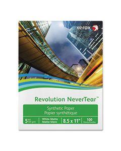 XER3R20172 REVOLUTION NEVERTEAR, 5 MIL, 8.5 X 11, SMOOTH WHITE, 500/REAM