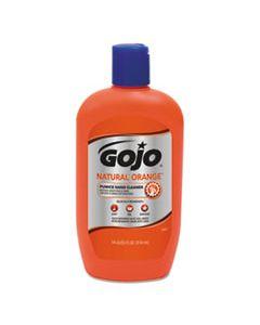 GOJ095712CT NATURAL ORANGE PUMICE HAND CLEANER, CITRUS, 14 OZ BOTTLE, 12/CARTON
