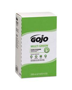 GOJ7265 MULTI GREEN HAND CLEANER REFILL, 2000ML, CITRUS SCENT, GREEN, 4/CARTON