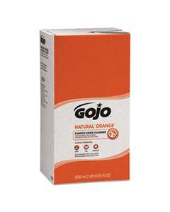 GOJ7556 NATURAL ORANGE PUMICE HAND CLEANER REFILL, CITRUS SCENT, 5000 ML, 2/CARTON