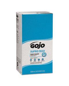 GOJ7572 SUPRO MAX HAND CLEANER REFILL, 5000 ML, FLORAL SCENT, BEIGE, 2/CARTON