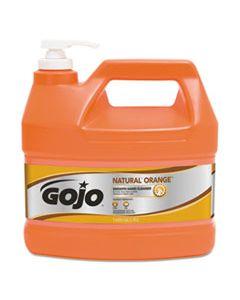 GOJ094504 NATURAL ORANGE SMOOTH HAND CLEANER, 1 GAL, PUMP DISPENSER, CITRUS SCENT, 4/CARTON