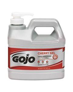 GOJ235604CT CHERRY GEL PUMICE HAND CLEANER, 1/2 GAL BOTTLE, 4/CARTON