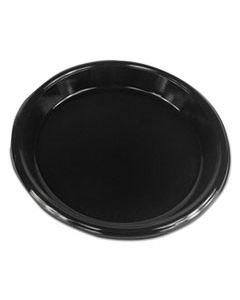 """BWKPLHIPS10BL HI-IMPACT PLASTIC DINNERWARE, PLATE, 10"""" DIAMETER, BLACK, 500/CARTON"""