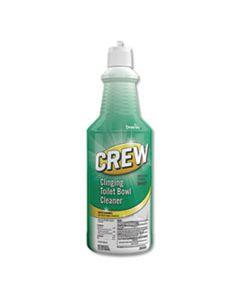 DVOCBD539698 CREW CLINGING TOILET BOWL CLEANER, FRESH SCENT, 32 OZ SQUEEZE BOTTLE, 6/CARTON