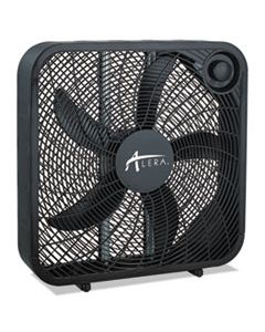 ALEFANBX20B 3-SPEED BOX FAN, BLACK
