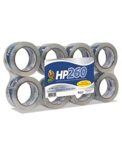 """DUC0007424 HP260 PACKAGING TAPE, 3"""" CORE, 1.88"""" X 60 YDS, CLEAR, 8/PACK"""
