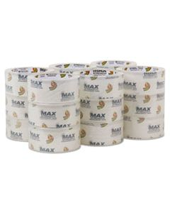 """DUC241514 MAX PACKAGING TAPE, 3"""" CORE, 1.88"""" X 54.6 YDS, CRYSTAL CLEAR, 18/PACK"""
