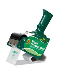 """DUC1064012 EXTRA-WIDE PACKAGING TAPE DISPENSER, 3"""" CORE, GREEN"""