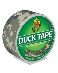 """DUC1388825 COLORED DUCT TAPE, 3"""" CORE, 1.88"""" X 10 YDS, DIGITAL CAMO"""