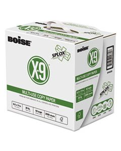 CASSP8420PLT X-9 SPLOX MULTI-USE PAPER , 92 BRIGHT, 20LB, 8.5 X 11, WHITE, 500 SHEETS/REAM, 5 REAMS/CARTON, 80 CARTONS/PALLET
