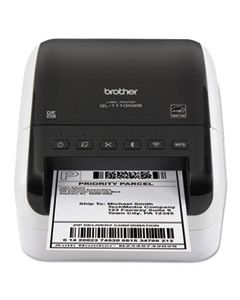 BRTQL1110NWB QL1110NWB WIDE FORMAT PROFESSIONAL LABEL PRINTER WITH MULTIPLE CONNECTIVITY OPTIONS
