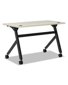 BSXBMPT4824PQ MULTIPURPOSE TABLE FLIP BASE TABLE, 48W X 24D X 29 3/8H, LIGHT GRAY