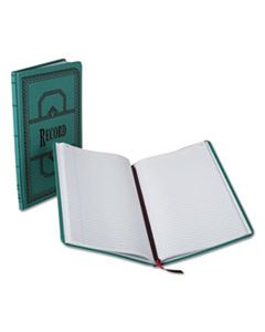 BOR66150R RECORD/ACCOUNT BOOK, RECORD RULE, BLUE, 150 PAGES, 12 1/8 X 7 5/8