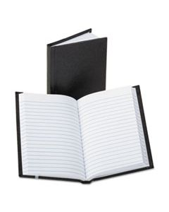 BOR380812 POCKET SIZE BOUND MEMO BOOKS, NARROW RULE, 5.25 X 3.25, WHITE, 72 SHEETS
