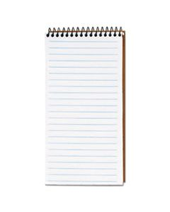 TOP74130 SECOND NATURE RECYCLED NOTEBOOKS, GREGG RULE, 4 X 8, WHITE, 70 SHEETS