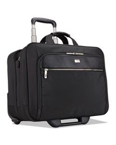 "CLG3200943 17"" CHECKPOINT FRIENDLY ROLLING LAPTOP CASE, 17.9"" X 10.6"" X 14.8"", BLACK"