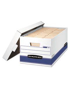 "FEL0070110 STOR/FILE MEDIUM-DUTY STORAGE BOXES, LETTER FILES, 12"" X 25.38"" X 10.25"", WHITE, 20/CARTON"
