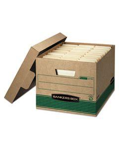 "FEL1277008 STOR/FILE MEDIUM-DUTY STORAGE BOXES, LETTER/LEGAL FILES, 12"" X 16.25"" X 10.5"", KRAFT, 20/CARTON"