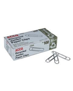 ACC72525 PAPER CLIPS, JUMBO, SILVER, 1,000/PACK