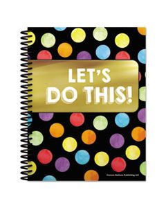 CDP105000 TEACHER PLANNERS, CELEBRATE LEARNING THEME, 11 X 8 1/2, BLACK