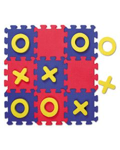 CKC4392 WONDERFOAM EARLY LEARNING, TIC TAC TOE PUZZLE MAT, AGES 3 AND UP