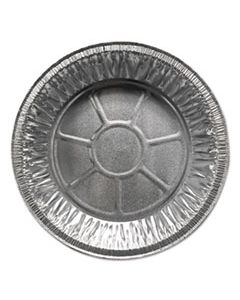 """DPK200030 ALUMINUM PIE PANS, 9"""" DIA., SHALLOW, 500/CARTON"""