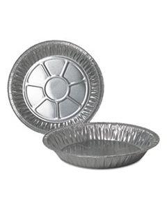 """DPK210040 ALUMINUM PIE PANS, 9"""" DIA., DEEP, 500/CARTON"""