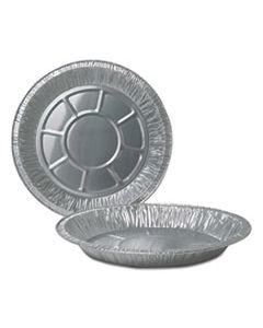 """DPK260040 ALUMINUM PIE PANS, 10"""" DIA., DEEP, 500/CARTON"""