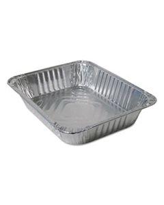 DPK420045 ALUMINUM STEAM TABLE PANS, HALF SIZE, 100/CARTON