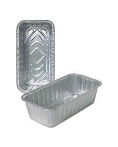 DPK510035 ALUMINUM LOAF PANS, 2 LB, 500/CARTON