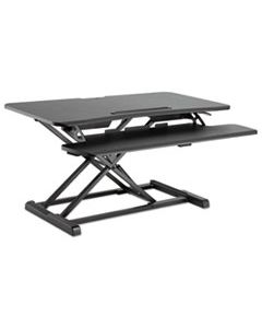 ALEAEWR4B ADAPTIVERGO SIT-STAND WORKSTATION, 37.38W X 26.13D X 19.88H, BLACK