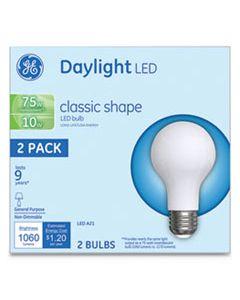 GEL31181 LED CLASSIC DAYLIGHT A21 LIGHT BULB, 10 W, 2/PACK
