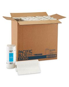 GPC27300 PACIFIC BLUE SELECT PERFORATED PAPER TOWEL, 8 4/5X11, WHITE, 100/ROLL, 30 RL/CT