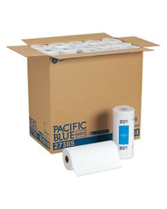 GPC27385 PACIFIC BLUE SELECT PERFORATED PAPER TOWEL, 8 4/5X11,WHITE, 85/ROLL, 30 ROLLS/CT