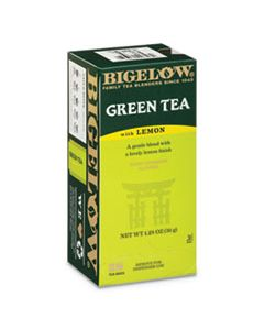 BTC10346 GREEN TEA WITH LEMON, LEMON, 0.34 LBS, 28/BOX