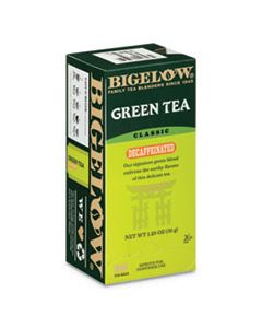 BTC10347 DECAFFEINATED GREEN TEA, GREEN DECAF, 0.34 LBS, 28/BOX