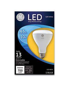 GEL40893 LED BR30 DIMMABLE SOFT WHITE FLOOD LIGHT BULB, 10 W